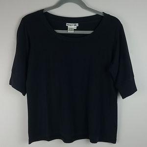 WinterSilks Dark Grey Tshirt Size Medium
